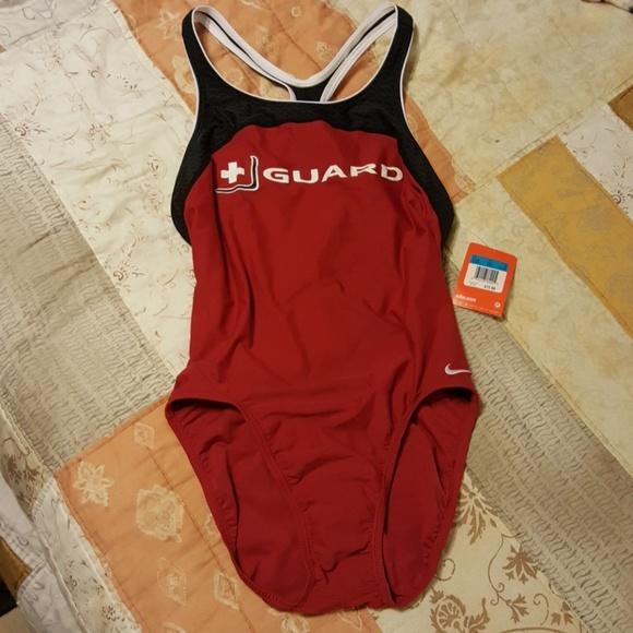 c48de4558361 NWT NikeSwim Racerback Lifeguard Swimsuit. NWT. Nike